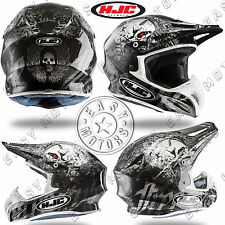 CASCO HELMET CROSS MOTARD HJC RPHA X SEEZE IN FIBRA TAGLIA XS XL