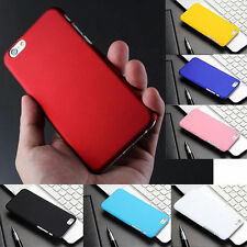 New Slim Matte Shell Plastic Hard Back Case Cover For Apple iPhone 6s & 6s Plus