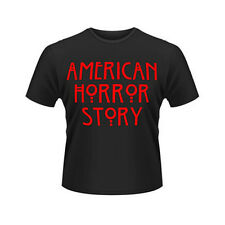 T-Shirt black noir American Horror Story Serie Official Red Blood Rouge Sang
