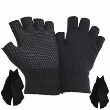 New Fingerless Magic Gripper Gloves/Half Finger, FREE P&P