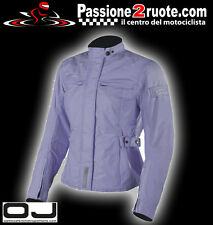 Giacca moto donna Oj Lovely Lady indaco impermeabile