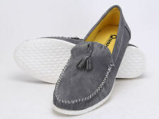 Quarks Men's Stylish Casual Loafer Shoes - Grey  Color - Q1010GR