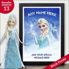PERSONALISED FROZEN Gifts - Birthday Christmas Xmas Presents Girls Daughter Kids
