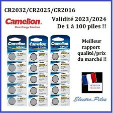 Piles/Battery bouton Camelion 3V Lithium CR2032/CR2025/CR2016