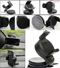 Small 360° Windscreen Car Holder Mount Cradle Stand For Various Mobile Phones