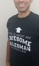 This is What an Awesome Salesman looks like T shirt New Gift Funny Christmas Gif