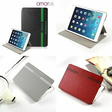AMORUS Smart Awakening Leather Case Folio Cover for Apple iPad mini 1 2 3
