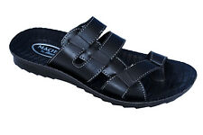 Bata Brand Mens Black Casual Slipper/Sandal 6355