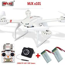 MJX X101 4CH 6-Axis Gyro 3D Roll RC Quadcopter Drone+FPV C4005/720P C4008 Camera
