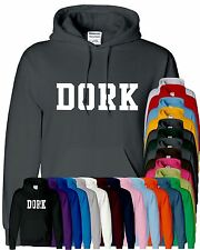 Mens Boy Unisex Dork Hoodies Hooded Sweatshirt Pullover Sweat Hoody All Sizes