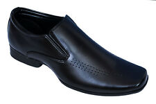 BATA BRAND MENS BLACK SLIPONS FORMAL SHOES 6509