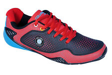 Columbus Brand Mens Cruise Black Red Casual Sports Shoes