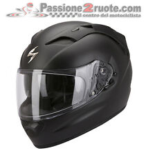 Casco Scorpion Exo 1200 Air nero opaco integrale fullface helmet