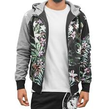 Just Rhyse Jungle Zip Hoodie Black Herren Kapuzen Pullover Jacke
