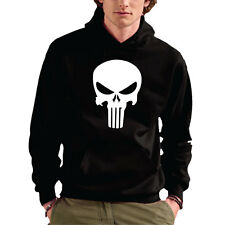 FELPA CAPPUCCIO SWEET HOODIE UNISEX MARVEL THE PUNISHER SKULL