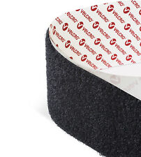 Black 5CM wide Velcro VELCRO® Hook and loop Self Adhesive sticky back tape