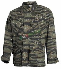 Giacca Mimetica VIETNAM Tiger Stripes Ripstop STONE WASHED Field Jacket