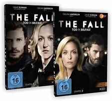 The Fall - Tod in Belfast Teil 1 & 2 Bundleset 5x DVD Gillian Anderson Jamie D..