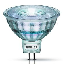 PHILIPS MR16 LED Lampe 3 / 5 Watt Strahler Spot GU5,3 12V Glas wie Halogenlampe