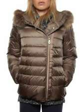 PEUTEREY EXPRESS FUR PED1361 FANGO giacca invernale piumino donna