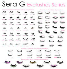 GOOD QUALITY False Eyelashes - Long Short Natural Thick Fake Lashes | Made in UK