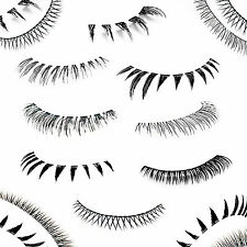Lower Lashes Bottom False Eyelashes Long Short Natural Thick Fake Lashes - UK