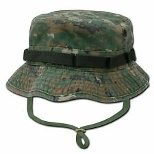 Camouflage Military Boonie Hunting Army Fishing Bucket Jungle Cap Hat Sz M L XL