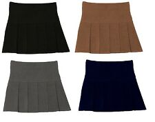 Girls School Wear School Uniform Girl Hand Pleat Secondary School Skirt Skirts