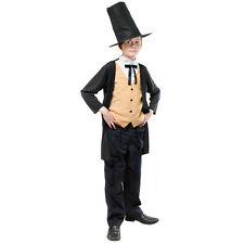 VICTORIAN GENT #BRUNEL CHILD VICTORIAN EDWARDIAN FANCY DRESS COSTUME ALL AGES