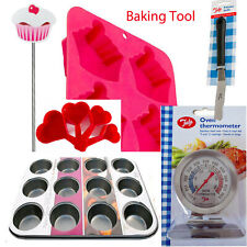 Baking Tools Tray Pastry Muffin Tin Spatula Mold Cake Decoration Icing Easyclean