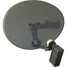 Satgear MK4 Sky Satellite Dish Kit for Sky/Freesat with OCTO LNB and 15m cable