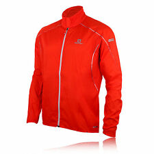 Salomon S-Lab Light ClimaWind Pro Herren Laufjacke Outdoor Sport Jacke Rot