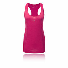 Ronhill Aspiration Tempo Womens Pink Running Gym Sleeveless Vest Tank Top