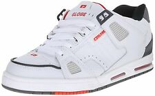 Scarpe Uomo GLOBE SABRE White Grey Red 41 42 43 44 45 46