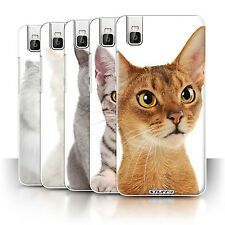 STUFF4 Phone Case/Back Cover for Huawei Honor 7i/ShotX /Cat Breeds