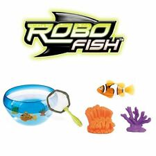 Robo Fish - Coral Bowl Fish Set - Electronic Pet That Swims!