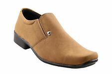 Quarks Beige Denim Look Slip On For Men (Q1067BE)