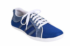 Quarks Casual Blue Mesh Shoes For Men (Q1058BL)