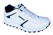 Bata Brand Mens Power White Blue Casual Sports Shoes