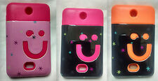 Rubberised Glossy Hard + Soft Back Cover for Nokia Asha 501