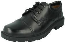 SALE £39.99 MENS CLARKS LAIR CAP LEATHER LACE UP TOE CAP SMART CASUAL SHOES