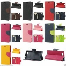 Genuine Mercury Goospery Diary Leather Case Flip Cover for Sony Xperia Z1 C6903