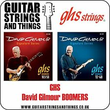 Ghs BOOMERS Signature Series DAVID GILMOUR Electric Guitar Strings - ALL GAUGES