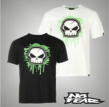 Mens Branded No Fear Casual Short Sleeves Core Graphic T Shirt Top Size S-XXXL