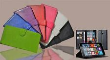 WALLET PU LEATHER FLIP STAND GEL SOFT CASE COVER FOR Nokia Lumia Mobile Phone