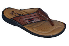 RED CHIEF MENS ORIGINAL BROWN 410 CASUAL SLIPONS SLIPPER / SANDAL