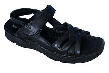 RED CHIEF MENS ORIGINAL BLACK 579 CASUAL LEATHER SANDAL