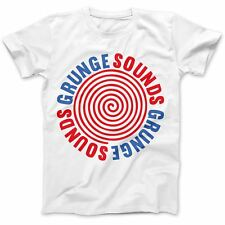 Sounds As Worn By Kurt Cobain T-Shirt 100% Premium Cotton Nirvana Grunge