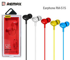 REMAX RM-515 Fashion Music Earphones with Mic 3.5mm Jack Support Handsfree