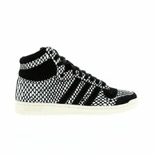 Mens ADIDAS TOP TEN HI Snake Leather Trainers M19220 / RRP £125